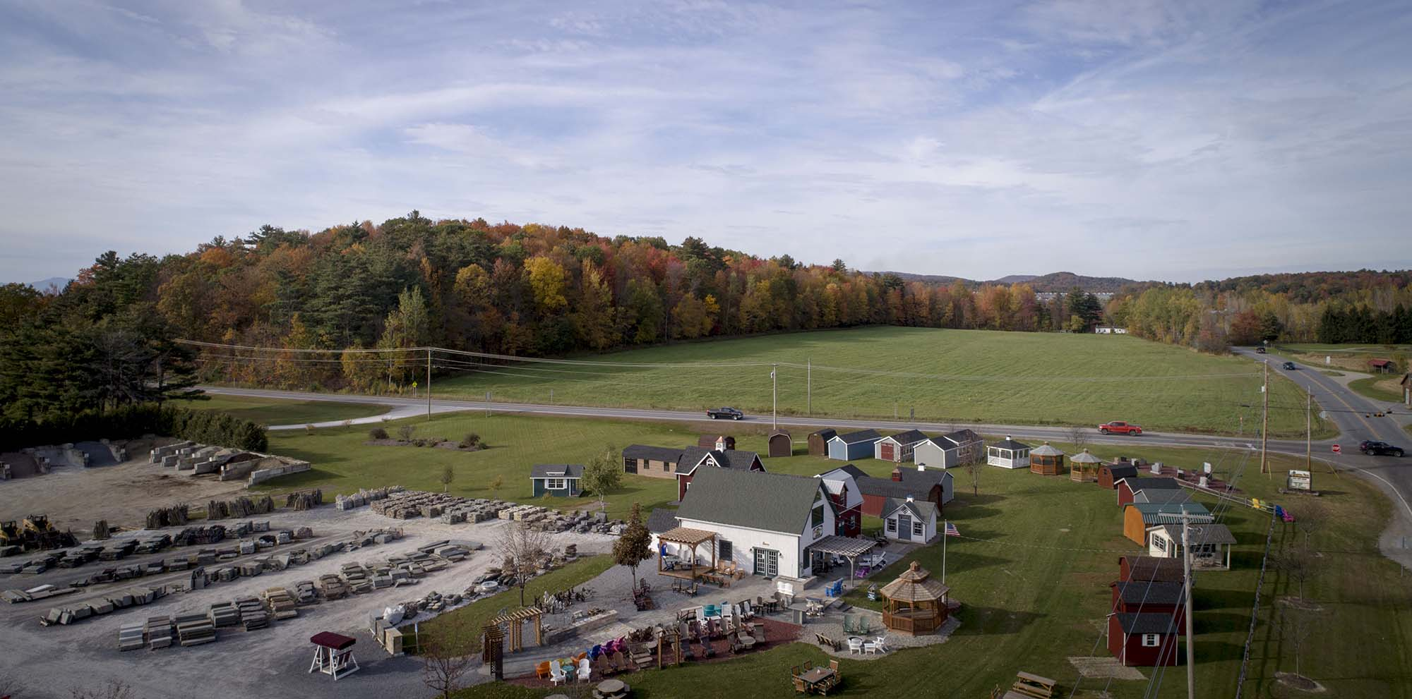 Livingston Farm - Vermont Outdoor Sheds, Stone, Memorial Stone & Bulk Products